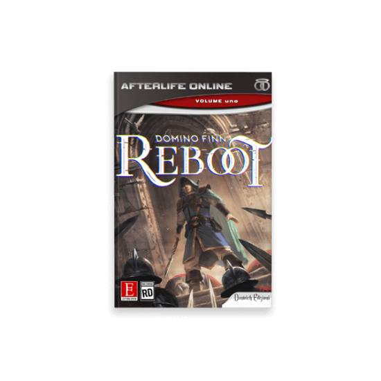 """Cover Book per """"Reboot"""" di Domino Finn - progetto copertina libro di CirceCorp Design"""