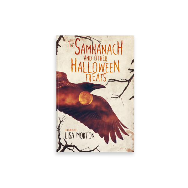 "Cover Book per ""the Samhanach and other Halloween Treats"" di Lisa Morton - progetto copertina libro di CirceCorp Design"