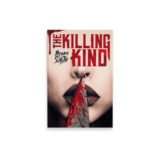 "Cover Book per ""The Killing Kind"" di Bryan Smith - progetto copertina libro di CirceCorp Design"