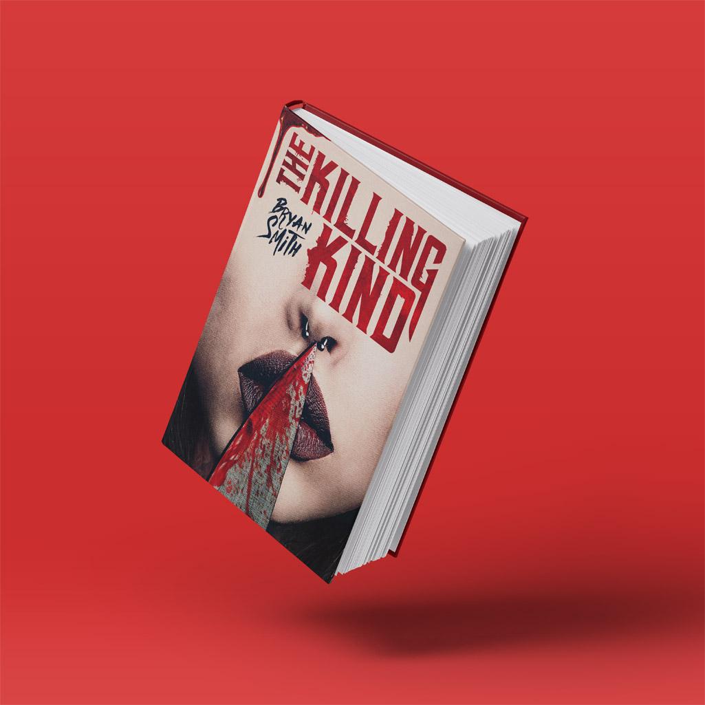 """Cover Book per """"The Killing Kind"""" di Bryan Smith - progetto copertina libro di CirceCorp Design"""