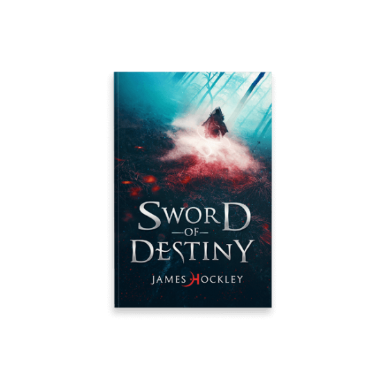 "Cover eBook per ""Sword of Destiny"" di James Hockley - progetto copertina ebook di CirceCorp Design"